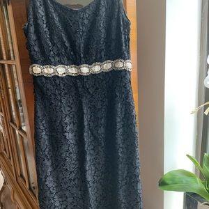 Blumarine evening dress, made in Italy.